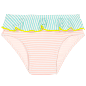 Les Maillots de Bain Anti-UV Fille | Nouvelle collection - CULOTTE ANNETTE Stripe Pink