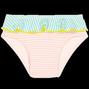 Les Maillots de Bain Anti-UV Fille | Nouvelle collection - CULOTTE ANNETTE Stripe Pink