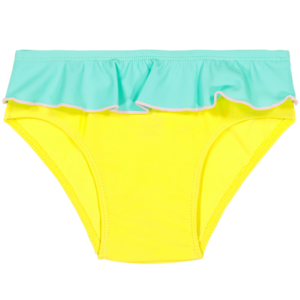 Les Maillots de Bain Anti-UV Fille | Nouvelle collection - CULOTTE ANNETTE Yellow