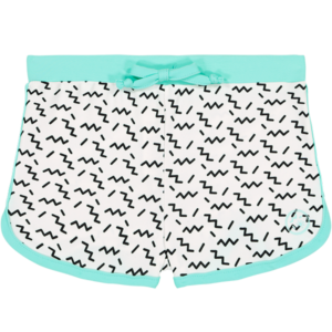 Les Maillots de Bain Garçon Anti-UV | Nouvelle collection - SHORT SCREECH Zigzag Green